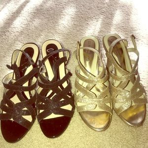 Naturalizer N5 Comfort Sparkle Glitter Heels